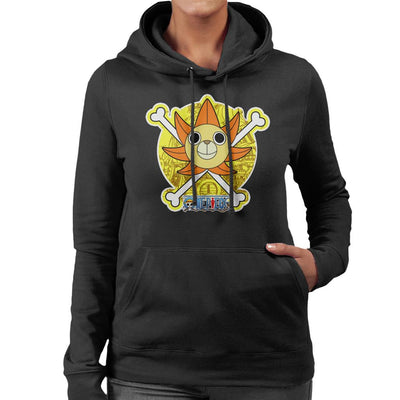 One Piece Thousand Sunny Figurehead Women's Hooded Sweatshirt by Carlsoncore - Cloud City 7