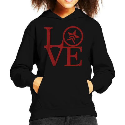 Mass Effect Renegade Love Kid's Hooded Sweatshirt by Cattoc C - Cloud City 7
