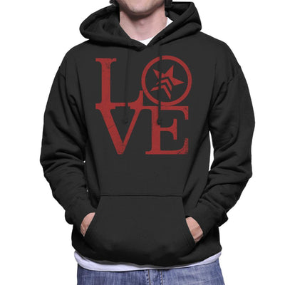 Mass Effect Renegade Love Men's Hooded Sweatshirt by Cattoc C - Cloud City 7