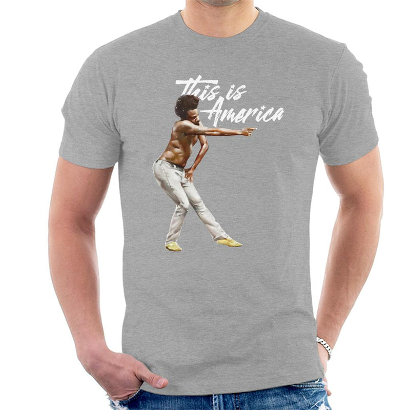 Childish Gambino Shooting This Is America Men's T-Shirt by Agaena - Cloud City 7