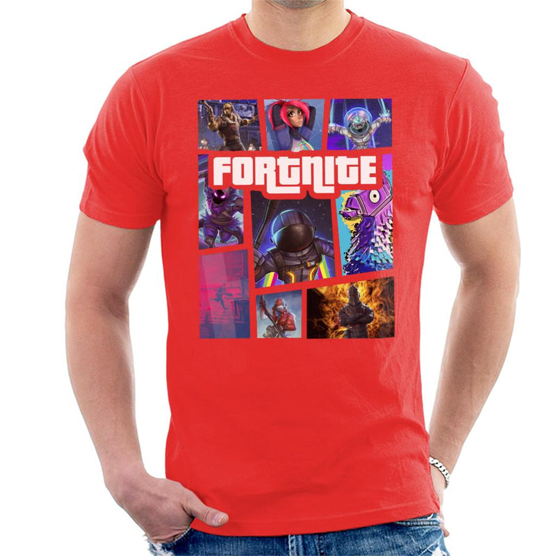 Fortnite Grand Theft Auto Men's T-Shirt by Agaena - Cloud City 7