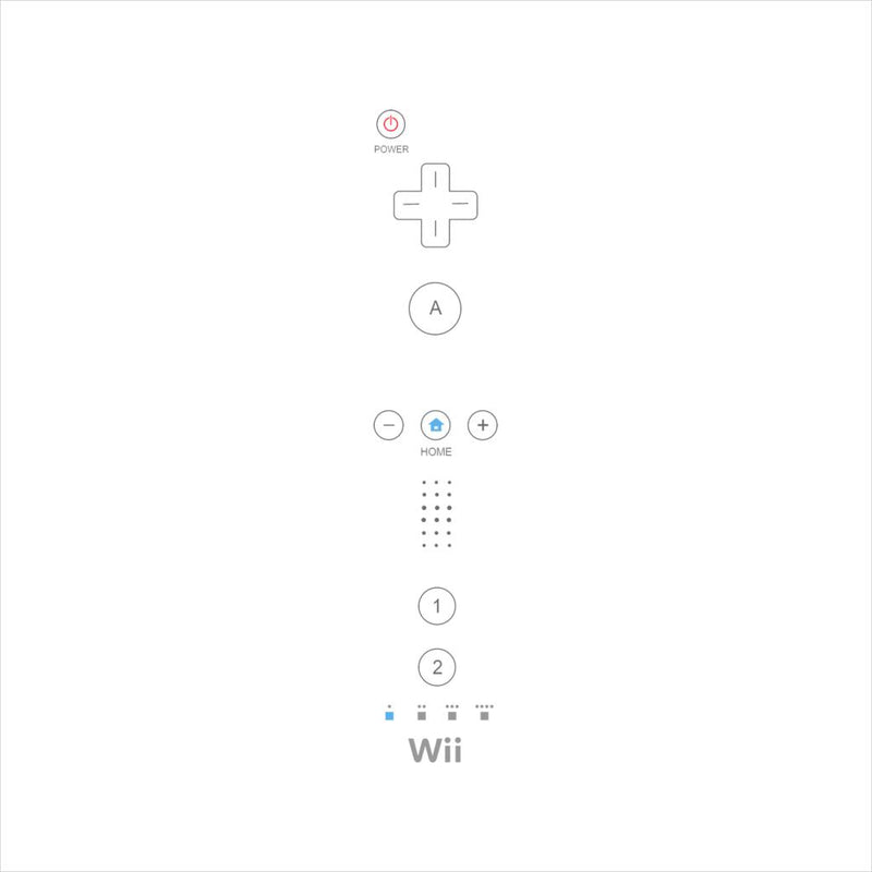Nintendo Wii Gaming Controller Men's T-Shirt by Cletus Courgetti - Cloud City 7