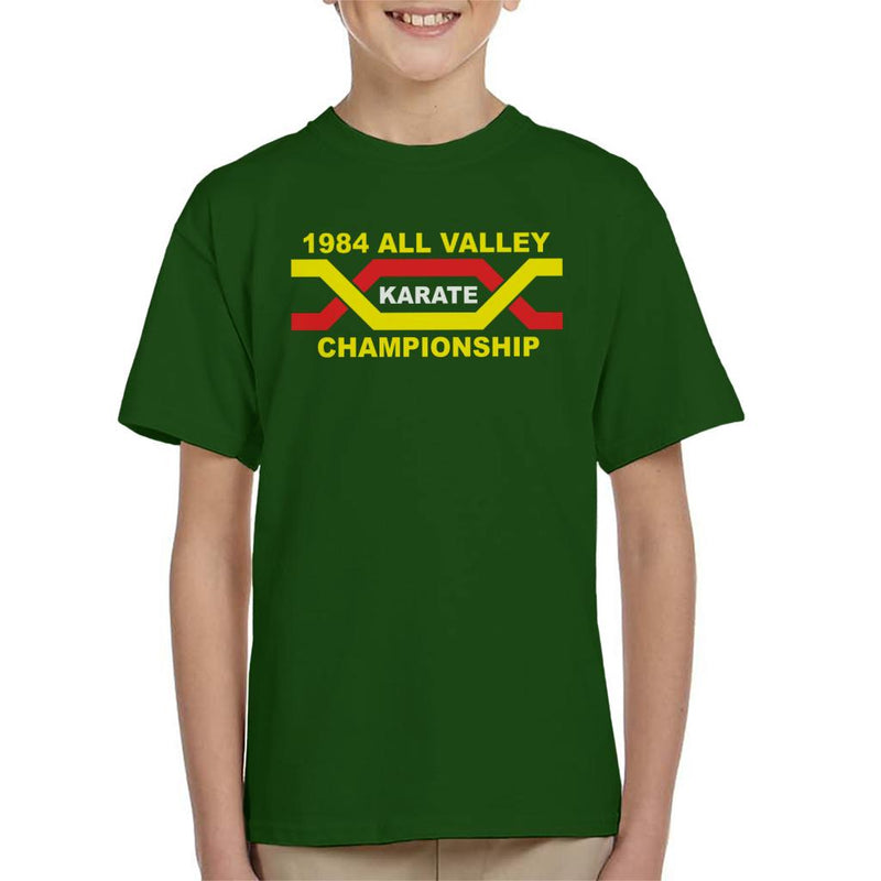 08048940b697 ... 1984 All Valley Karate Kid Championship Kid's T-Shirt by Stroodle  Doodle - Cloud City ...