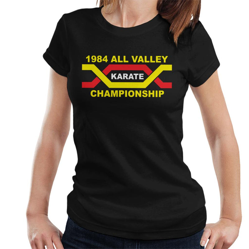 e5dae9b8eced ... 1984 All Valley Karate Kid Championship Women's T-Shirt by Stroodle  Doodle - Cloud City ...