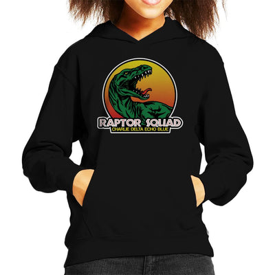 Roaring Raptor Squad Jurassic World Kid's Hooded Sweatshirt by Carlsoncore - Cloud City 7