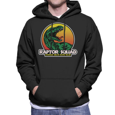 Roaring Raptor Squad Jurassic World Men's Hooded Sweatshirt by Carlsoncore - Cloud City 7