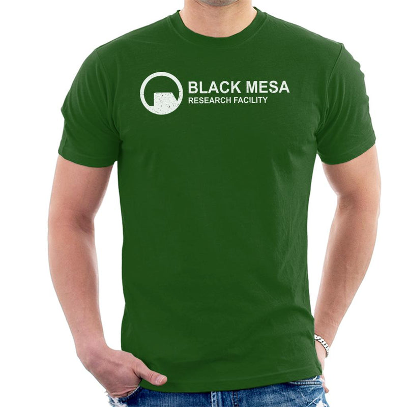 Black Mesa Research Facility Half Life Men's T-Shirt by Stroodle Doodle - Cloud City 7