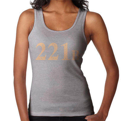 221B Baker Street Sherlock Holmes Address Women's Vest by Stroodle Doodle - Cloud City 7