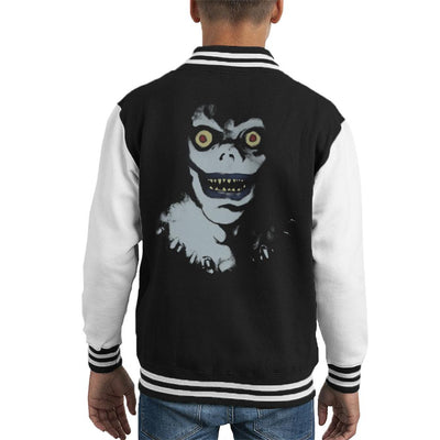 Death Note The Shinigami Ryuk Kid's Varsity Jacket by Retro Freak - Cloud City 7