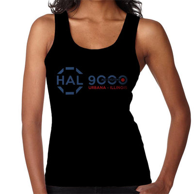 2001 Space Odyssey HAL 9000 AGI Systems Women's Vest by Stroodle Doodle - Cloud City 7