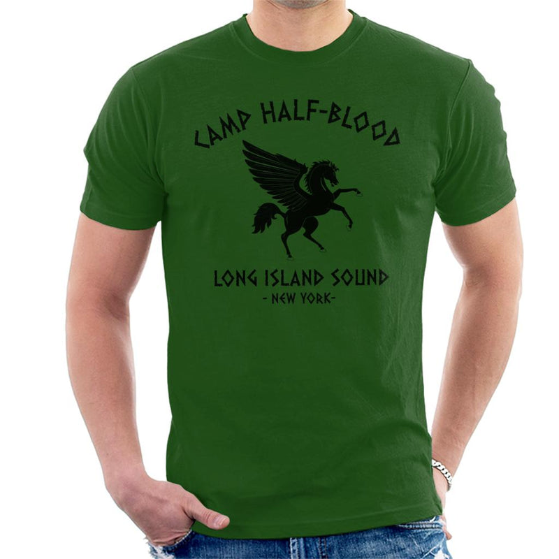 Percy Jackson Camp Half Blood Men's T-Shirt by Stroodle Doodle - Cloud City 7