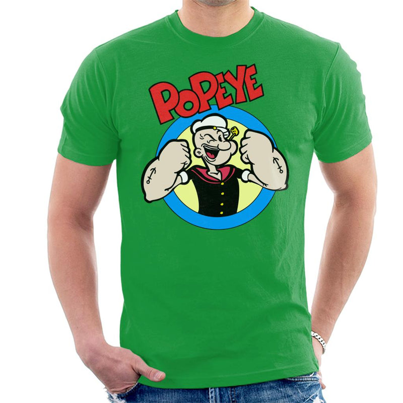 Popeye Put Up Your Dukes Men's T-Shirt by BoyWithHat - Cloud City 7