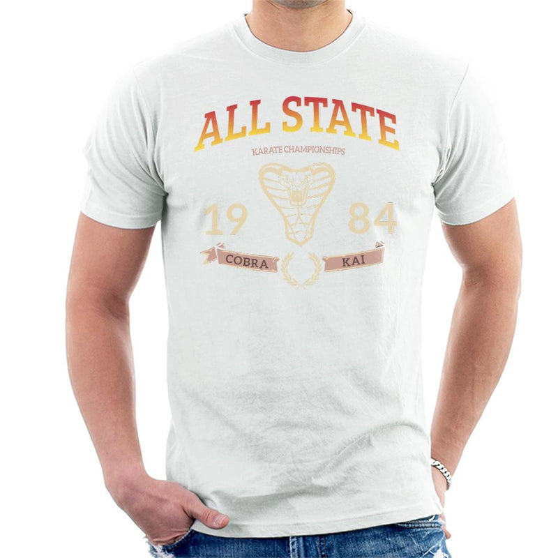 Cobra Kai 1984 All State Championships Men's T-Shirt by Spudhead - Cloud City 7