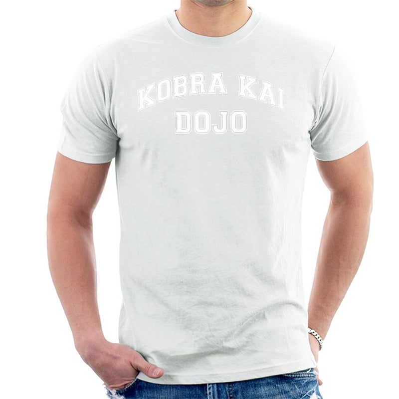 Cobra Kai Dojo Varsity Text Men's T-Shirt by Spudhead - Cloud City 7