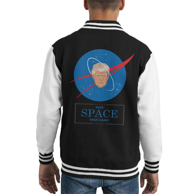Trump Nasa Make Space Great Again Kid's Varsity Jacket by Sassquatch - Cloud City 7