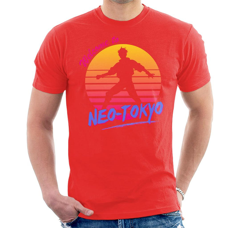 Akira Welcome To Neo Tokyo Men's T-Shirt by Prosthetic Mind - Cloud City 7