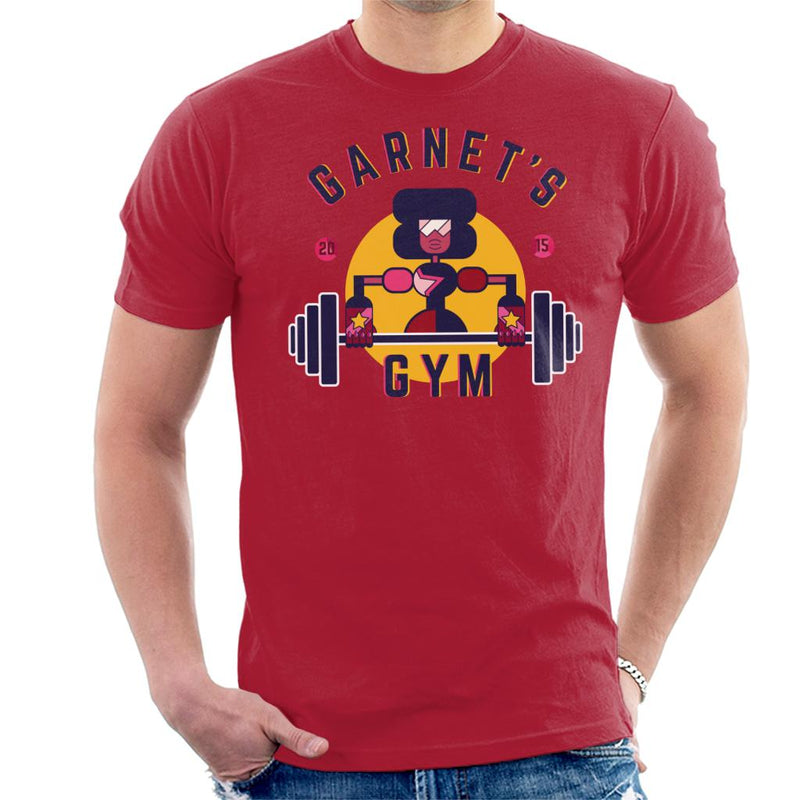 Steven Universe Garnets Gym Men's T-Shirt by Lazy Nugu - Cloud City 7
