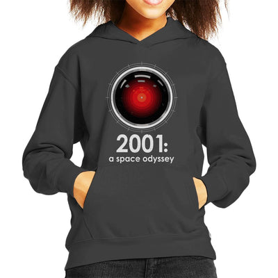 2001 A Space Odyssey Inspired HAL 9000 Kid's Hooded Sweatshirt by Stroodle Doodle - Cloud City 7