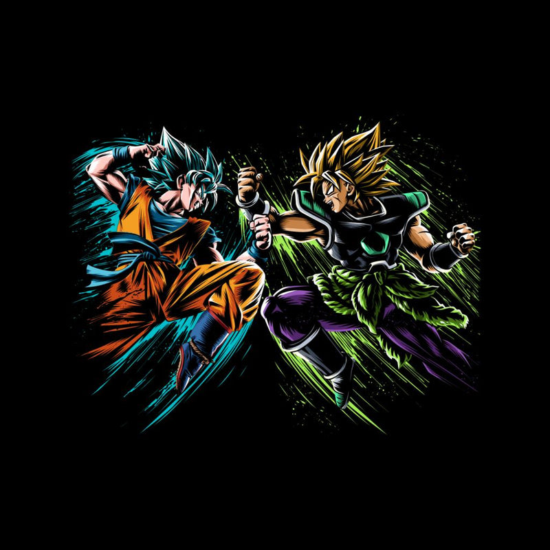 Dragon Ball Goku Vs Broly