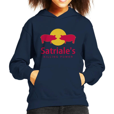 The Sopranos Satriales Killing Power Kid's Hooded Sweatshirt by Karlangas - Cloud City 7