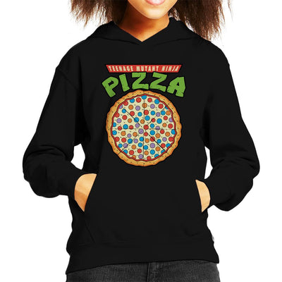 Teenage Mutant Ninja Pizza Kid's Hooded Sweatshirt by Karlangas - Cloud City 7