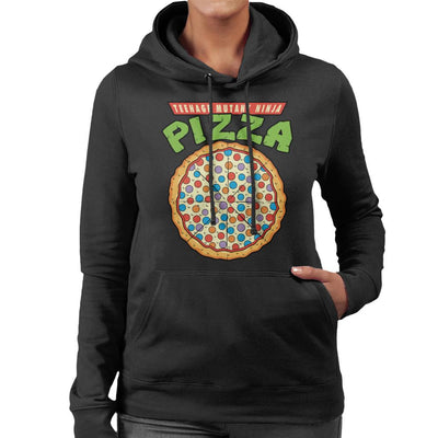 Teenage Mutant Ninja Pizza Women's Hooded Sweatshirt by Karlangas - Cloud City 7