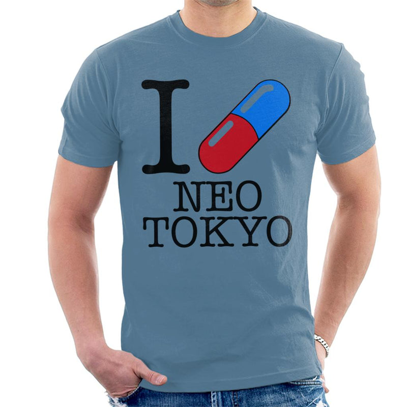 I Love Neo Tokyo Men's T-Shirt by Prothetic Mind - Cloud City 7