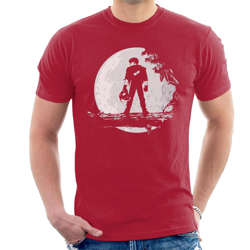 Akira Moon Silhouette Men's T-Shirt by Prothetic Mind - Cloud City 7