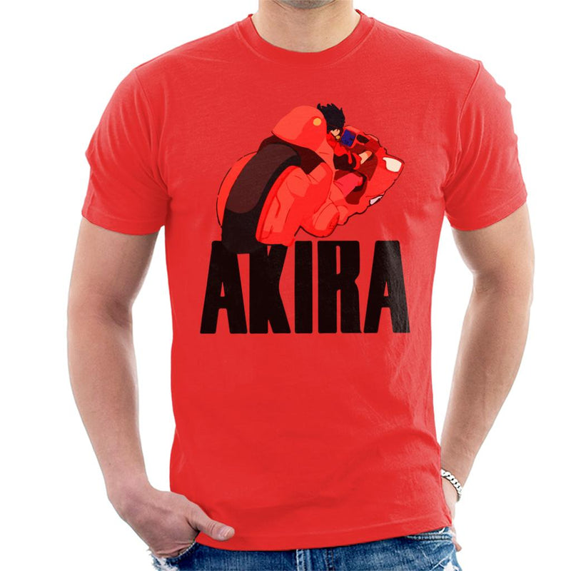 Akira Motorbike Back View Men's T-Shirt by Prothetic Mind - Cloud City 7