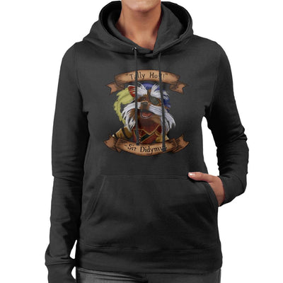 Labyrinth Tally Ho Sir Didymus Women's Hooded Sweatshirt by Vinny Palmer - Cloud City 7