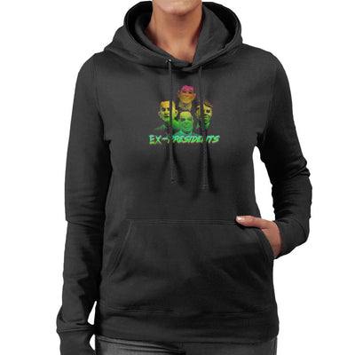 Ex Presidents Appreciation Women's Hooded Sweatshirt by Vinny Palmer - Cloud City 7