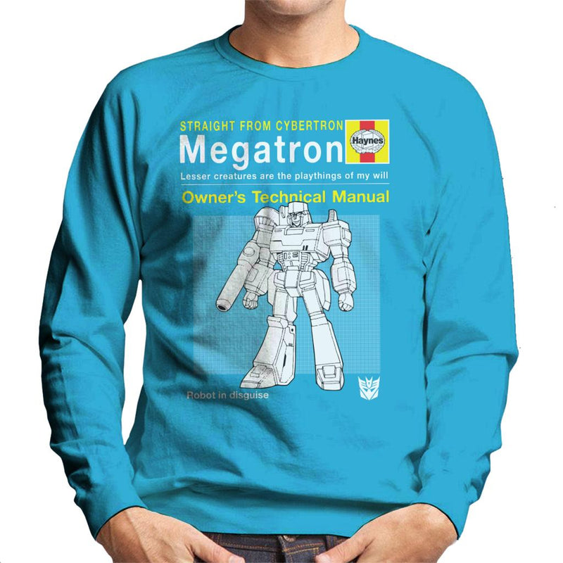 Megatron Haynes Manual Transformers Men's Sweatshirt