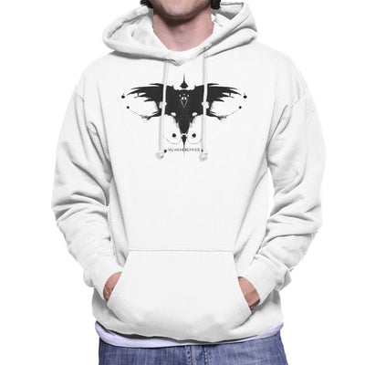 Valar Morghulis Rorschach Game Of Thrones Men's Hooded Sweatshirt by Sebastian Govino - Cloud City 7
