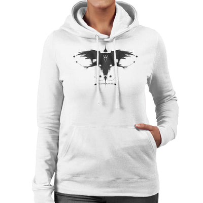 Valar Morghulis Rorschach Game Of Thrones Women's Hooded Sweatshirt by Sebastian Govino - Cloud City 7