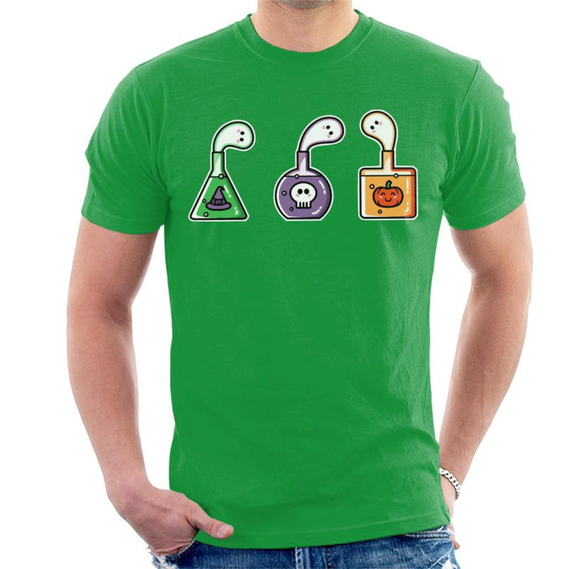 Halloween Ghost Potions Men's T-Shirt by Flaming Imp - Cloud City 7