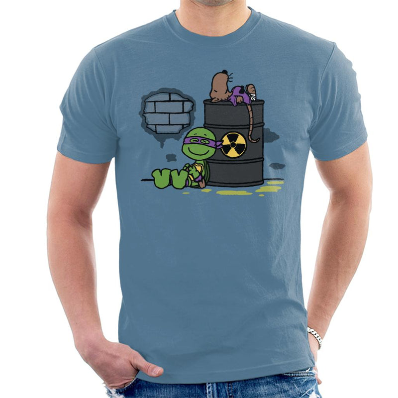 Splooty TMNT Peanuts Men's T-Shirt by Raffiti - Cloud City 7