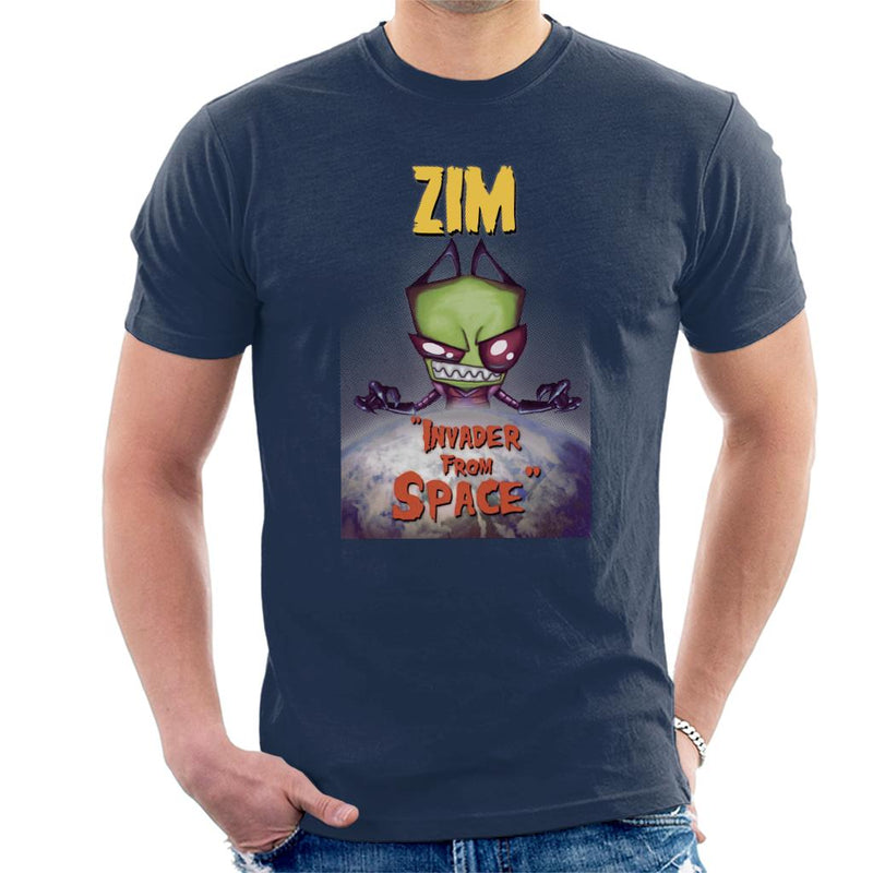 Zim Invader From Space Men's T-Shirt by Vinny Palmer - Cloud City 7
