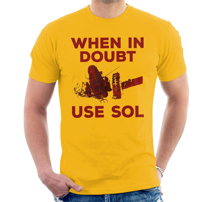 Akira When In Doubt Use Sol Men's T-Shirt by Prosthetic Mind - Cloud City 7