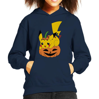 Pikachu Halloween Pokemon Kid's Hooded Sweatshirt by Nykos - Cloud City 7