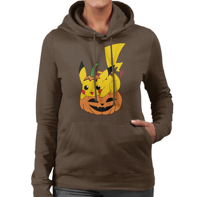 Pikachu Halloween Pokemon Women's Hooded Sweatshirt by Nykos - Cloud City 7