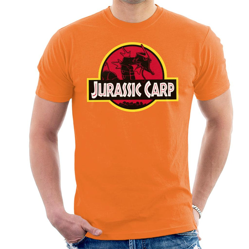Jurassic Carp Men's T-Shirt by Raffiti - Cloud City 7