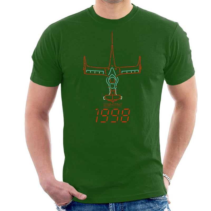 Cowboy Bebop Ship Men's T-Shirt by Rocketman - Cloud City 7