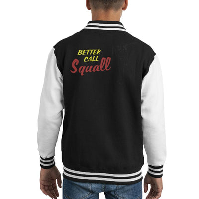 Better Call Squall Final Fantasy VIII Kid's Varsity Jacket by Sassquatch - Cloud City 7