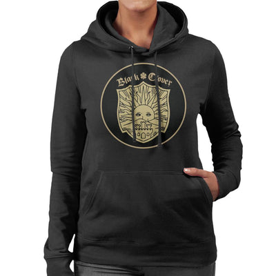 Black Clover Golden Dawn Crest Women's Hooded Sweatshirt by Mr.E - Cloud City 7