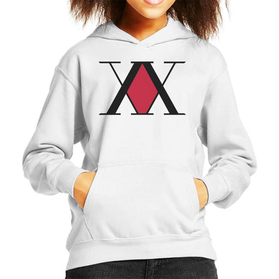 Hunter X Hunter Association Logo Kid's Hooded Sweatshirt by Mr.E - Cloud City 7