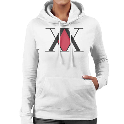 Hunter X Hunter Association Logo Women's Hooded Sweatshirt by Mr.E - Cloud City 7