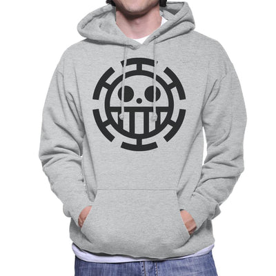 One Piece Heart Pirates Law Men's Hooded Sweatshirt by Mr.E - Cloud City 7