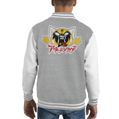 Aggretsuko Metal Kid's Varsity Jacket by BlancaVidal - Cloud City 7