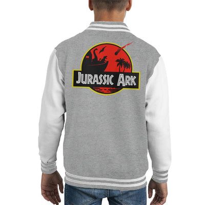 Jurassic Ark Kid's Varsity Jacket by BlancaVidal - Cloud City 7
