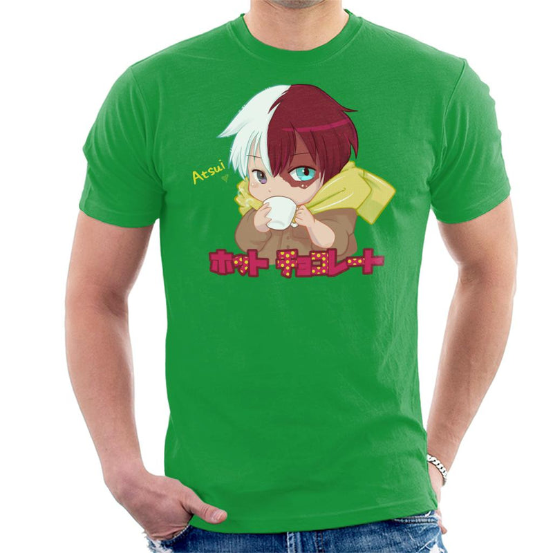 My Hero Academia Hotto Chokoretto Men's T-Shirt by Psychodelicia - Cloud City 7